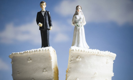 wedding and divorce